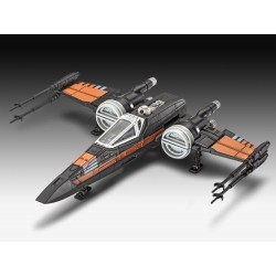 Star Wars Episode VII Model Build & Play with sound Poe's X-Wing Fighter