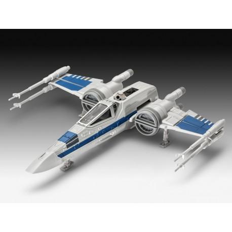 Star Wars Episodio VII Maqueta Build & Play con sonido X-Wing Fighter