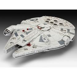Star Wars Episodio VII Maqueta Build & Play con luz y sonido Halcón Milenario