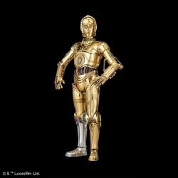 Star Wars Episodio IV Maqueta C-3PO Droide de Protocolo