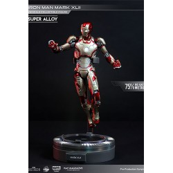 Iron Man 3 Figura Super Alloy 1/12 Iron Man Mark XLII
