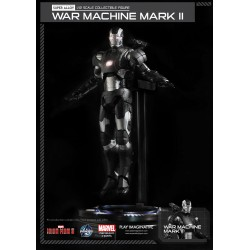 Iron Man 3 Figura Super Alloy 1/12 War Machine Mark II Ver. 2