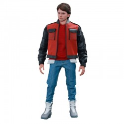 Regreso al Futuro II Figura Movie Masterpiece 1/6 Marty McFly