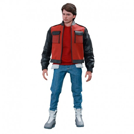 Regreso al Futuro II Figura Movie Masterpiece 1/6 Marty McFly