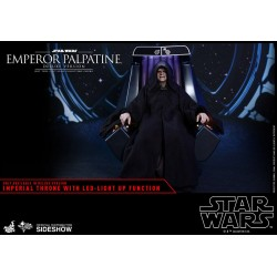 Star Wars Episodio VI Figura Movie Masterpiece 1/6 Emperador Palpatine Deluxe Version