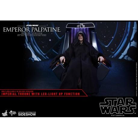 Star Wars Episode VI Movie Masterpiece Action Figure 1/6 Emperor Palpatine Deluxe Version