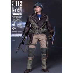 Capitán América Movie Masterpiece Figura 1/6 Rescue Version