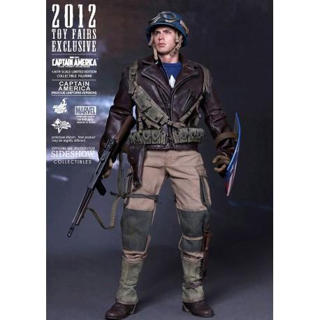 Captain America Movie Masterpiece Figure 1/6 Rescue Version
