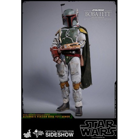 Star Wars Episode V Movie Masterpiece Action Figure 1/6 Boba Fett Deluxe Version