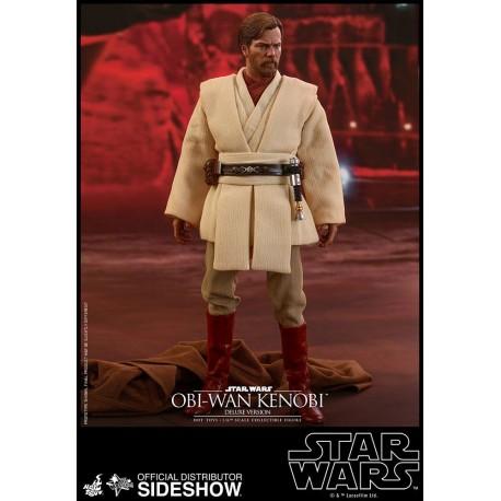 Star Wars Episode III Movie Masterpiece Action Figure 1/6 Obi-Wan Kenobi Deluxe Version