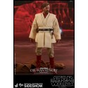 Star Wars Episodio III Figura Movie Masterpiece 1/6 Obi-Wan Kenobi Deluxe Version