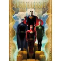 DC Comics Póster de Metal Justice League Retro Idols