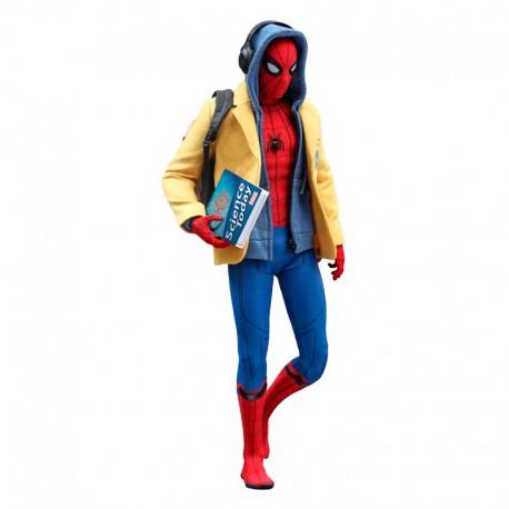 Spider-Man Homecoming Figura Movie Masterpiece 1/6 Spider-Man Deluxe Ver.