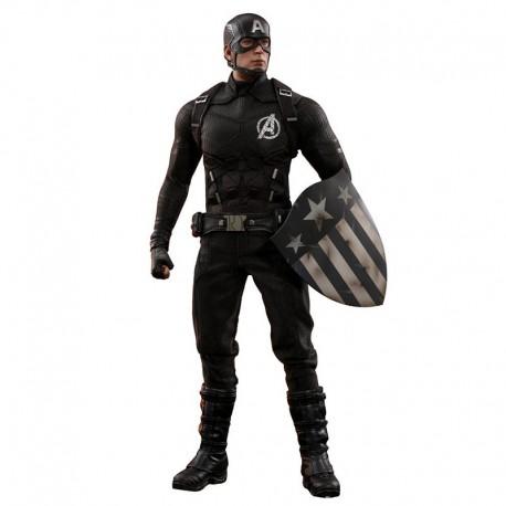 Marvel MMS Action Figure 1/6 Captain America Concept Art 2018 Toy Fair Exclusive
