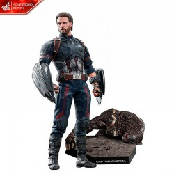 Avengers Infinity War Movie Masterpiece Action Figure 1/6 Captain America