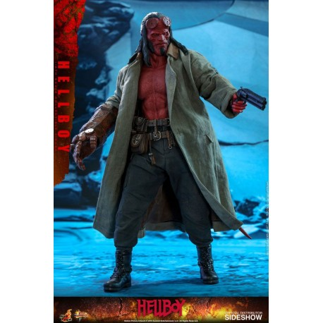 Hellboy Movie Masterpiece Action Figure 1/6 Hellboy