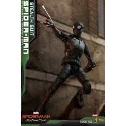 Spider-Man: Far From Home Movie Masterpiece Action Figure 1/6 Spider-Man (Stealth Suit)
