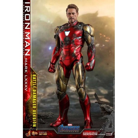 Avengers: Endgame MMS Diecast Action Figure 1/6 Iron Man Mark LXXXV Battle Damaged Ver.