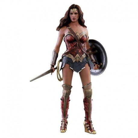 Justice League Movie Masterpiece Action Figure 1/6 Wonder Woman Deluxe Version