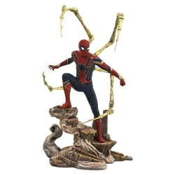 Vengadores Infinity War Marvel Movie Gallery Estatua Iron Spider-Man