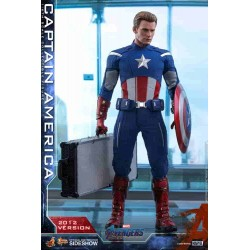 Avengers: Endgame Movie Masterpiece Action Figure 1/6 Captain America (2012 Version)