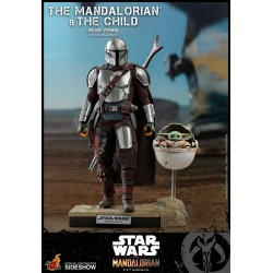 Star Wars The Mandalorian Pack de 2 Figuras 1/6 The Mandalorian & The Child Deluxe