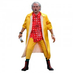 Back to the Future II Movie Masterpiece Action Figure 1/6 Dr Emmett Brown