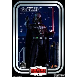 Star Wars Action Figure 1/6 Darth Vader The Empire Strikes Back 40th Anniversary Collection