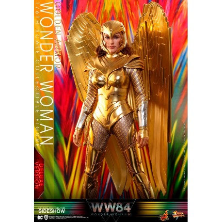 Wonder Woman 1984 Movie Masterpiece Action Figure 1/6 Golden Armor Wonder Woman Deluxe Version
