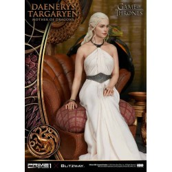 Juego de Tronos Estatua 1/4 Daenerys Targaryen - Madre de Dragones