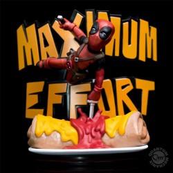 Marvel Q-Fig MAX Diorama Deadpool Maximum Effort