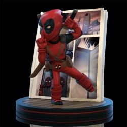 Marvel Q-Fig Diorama Deadpool 4D