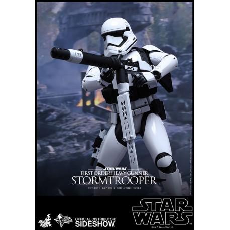 Star Wars Episode VII Figure Movie Masterpiece 1/6 First Order Heavy Gunner Stormtrooper