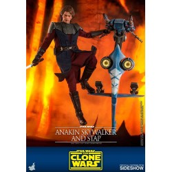 Star Wars The Clone Wars Figura 1/6 Anakin Skywalker & STAP