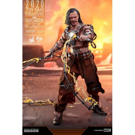 Iron Man 2 Movie Masterpiece Action Figure 1/6 Whiplash 2020 Toy Fair Exclusive