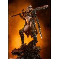 Sideshow Originals Estatua Dragon Slayer: Warrior Forged in Flame
