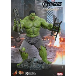 The Avengers Pack of Figures Movie Masterpiece 1/6 Bruce Banner & Hulk