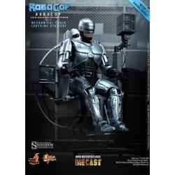 RoboCop Figura Movie Masterpiece Diecast 1/6 RoboCop with Mechanical Chair