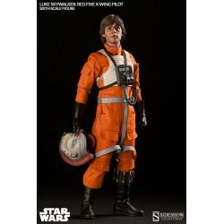 Star Wars Figure 1/6 Luke Skywalker Red Five X-wing Pilot