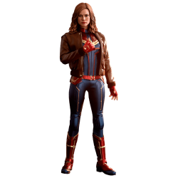 Captain Marvel Movie Masterpiece Action Figure 1/6 Captain Marvel Deluxe Ver.