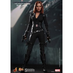 Captain America 2 Figure Movie Masterpiece 1/6 Black Widow