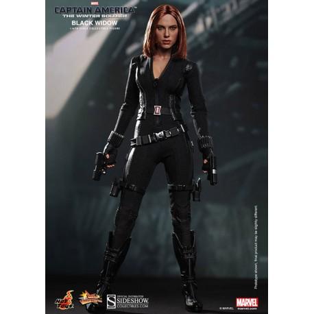 Captain America 2 Figure Movie Masterpiece 1/6 Black Widow
