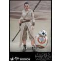 Star Wars Episode VII Movie Masterpiece Action Figure 2-Pack 1/6 Rey & BB-8
