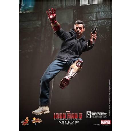 Iron Man 3 Figure Movie Masterpiece 1/6 Tony Stark (The Mechanic)
