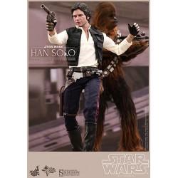 Star Wars Episodio IV Pack de 2 Figuras Movie Masterpiece 1/6 Han Solo y Chewbacca
