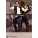 Star Wars Episode IV Pack of two Figures Movie Masterpiece 1/6 Han Solo & Chewbacca
