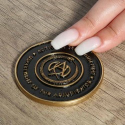 John Wick: Chapter 3 Replica 1/1 Adjudicator Medallion
