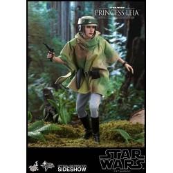 Star Wars Episode VI Figura Movie Masterpiece 1/6 Princesa Leia
