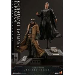 Zack Snyder's Justice League Pack de 2 Figuras 1/6 Knightmare Batman y Superman