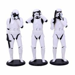 Pack de 3 Figuras Three Wise Stormtroopers